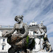 Rome Piazza Art Print