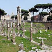 Rome Ruins Art Print