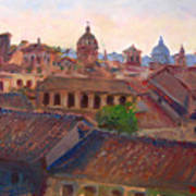Rome Seen From Campidoglio Art Print