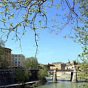 Rome's River Art Print