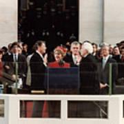 Ronald Reagan Inauguration - 1981 Art Print