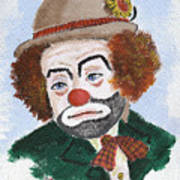 Ronnie The Clown Art Print