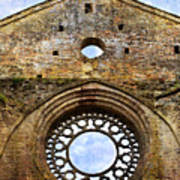 Roofless Church Abbazia Di San Galgano Art Print