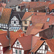 Roofs Of Bad Sooden-allendorf Art Print