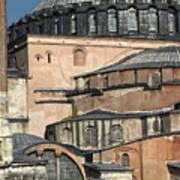 Roofscape Of The Hagia Sofia, Istanbul 2009 Art Print