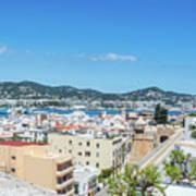 Rooftops Of Ibiza 4 Art Print