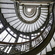 Rookery Stairway Art Print