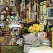 Room Of Flowers, 1894 Art Print