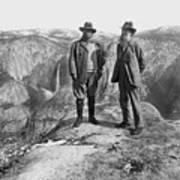 Roosevelt & Muir Art Print