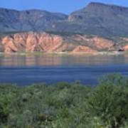 Roosevelt Lake - Panoramic Art Print