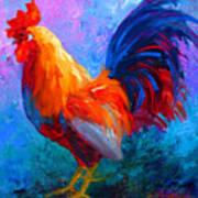 Rooster Bob Art Print