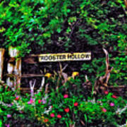 Rooster Hollow Art Print