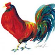 Rooster - Little Napoleon Art Print