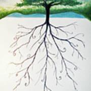 Roots Of A Tree Art Print