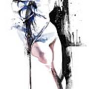 Rope Play Art Print