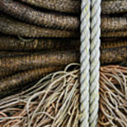 Ropes And Fishing Nets Art Print