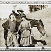 Roping Her Romeo 1919 Art Print