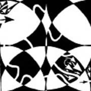Rorschach Maze Art Print