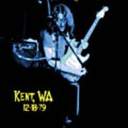 Rory Kent Blues Art Print