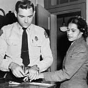Rosa Parks 1913-2005, Whose Refusal Art Print