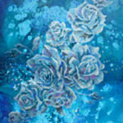Rosa Stellarum Art Print