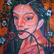 Rosales Latina Art Print
