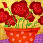 Rose-a-go-go Art Print
