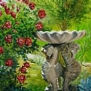 Rose Bath Art Print