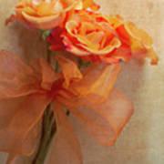 Rose Bouquet Print by Rebecca Cozart