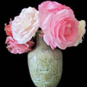 Rose Bouquet Stilllife Art Print