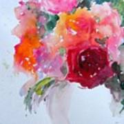 Rose Bowl II Art Print