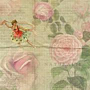 Rose Dancer Art Print