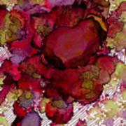 Rose Deep Art Print