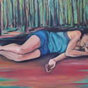 Rose Dreaming Art Print