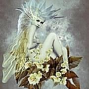 Rose Fairy Art Print