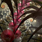 Rose Hip Bush Art Print