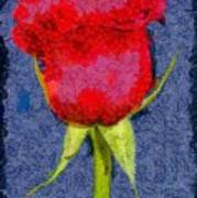 Rose - Id 16236-104956-0793 Art Print