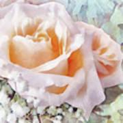 Rose Ivy Art Print