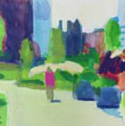 Rose Kennedy Greenway, Boston Art Print