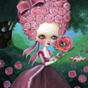 Rose Marie Antoinette Art Print