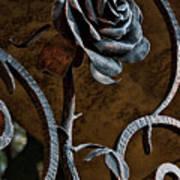Rose Of Iron Art Print