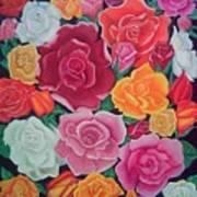 Rose Reunion Art Print