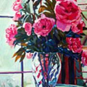 Rose Symphony Art Print by David Lloyd Glover