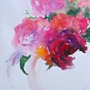 Rosebowl 1 Art Print