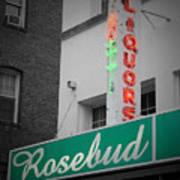 Rosebud Liquors Art Print