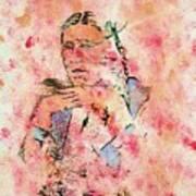 Rosebud Survivor Art Print