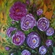 Rosebush Art Print