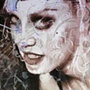 Rosegold Remixed Up Close Art Print