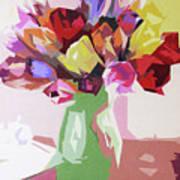 Rosemary's Tulips Art Print