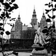 Rosenborg's Rose Garden Art Print
